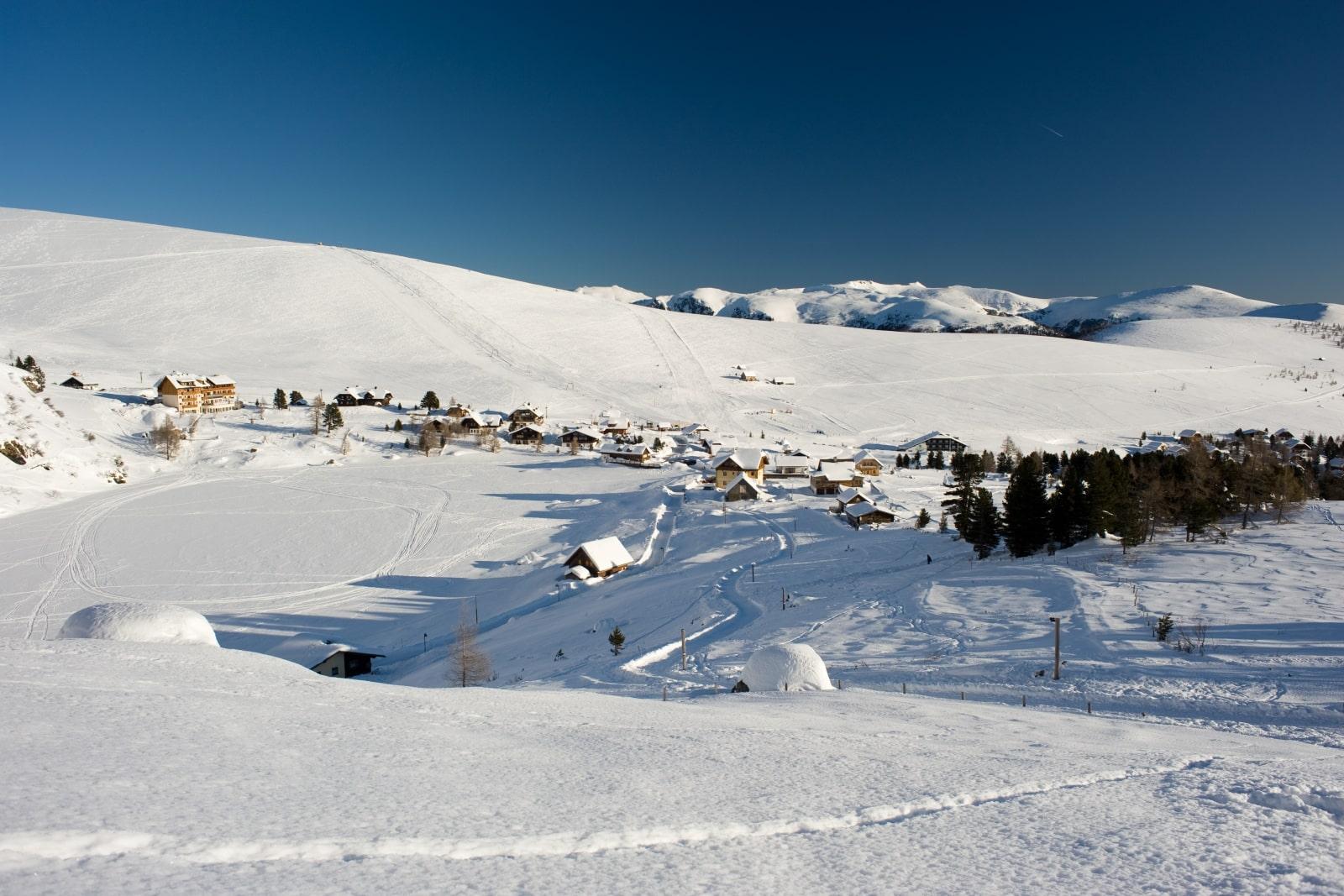 Heidi-Chalet-Falkert-Heidialm-Falkertsee-Hohenloipe-Ski-Winterwandern-See