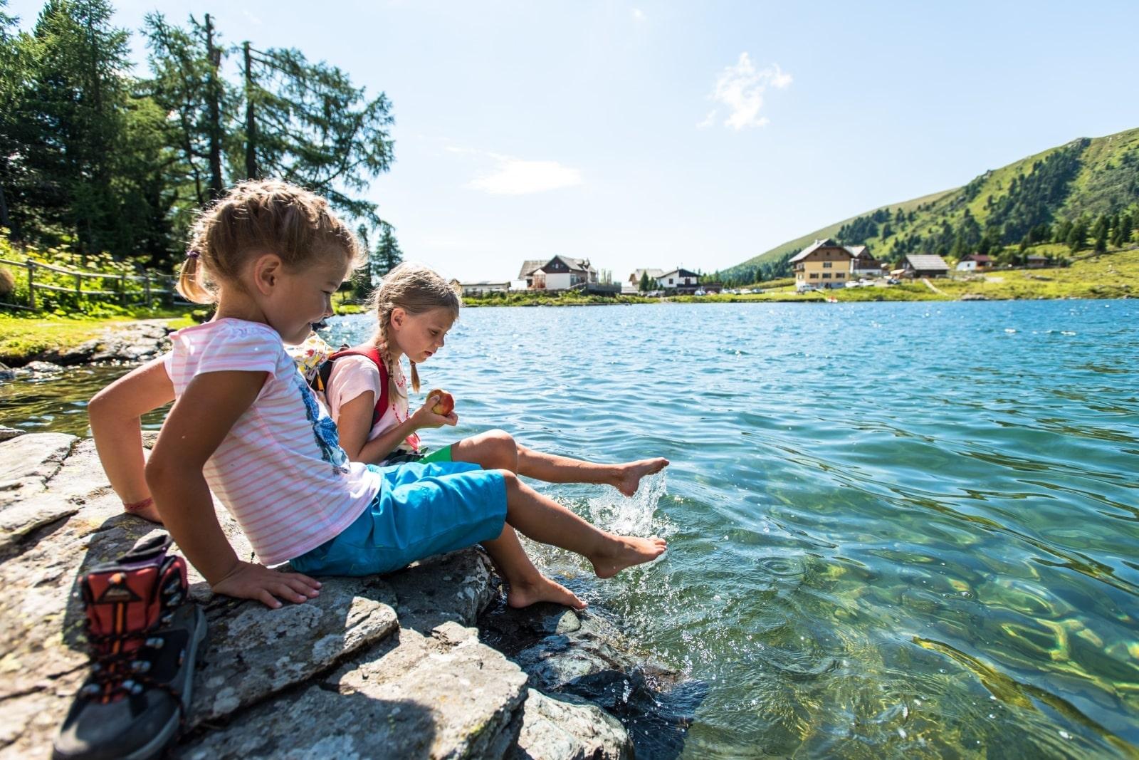Heidi-Chalet-Falkert-Heidialm-Falkertsee-Kinder-Bergsee