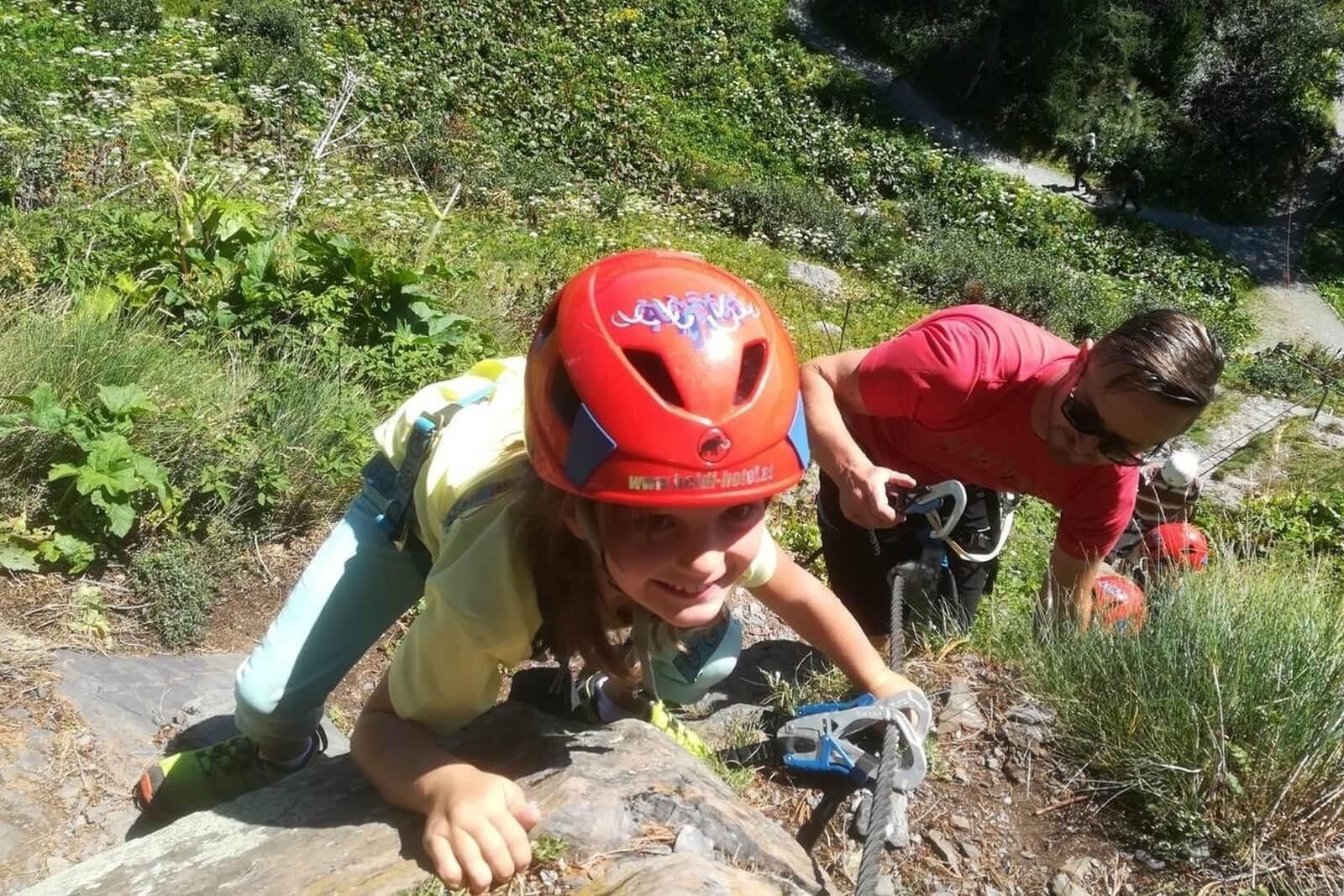Heidi-Chalet-Falkert-Heidialm-Falkertsee-Kinder-Klettersteig