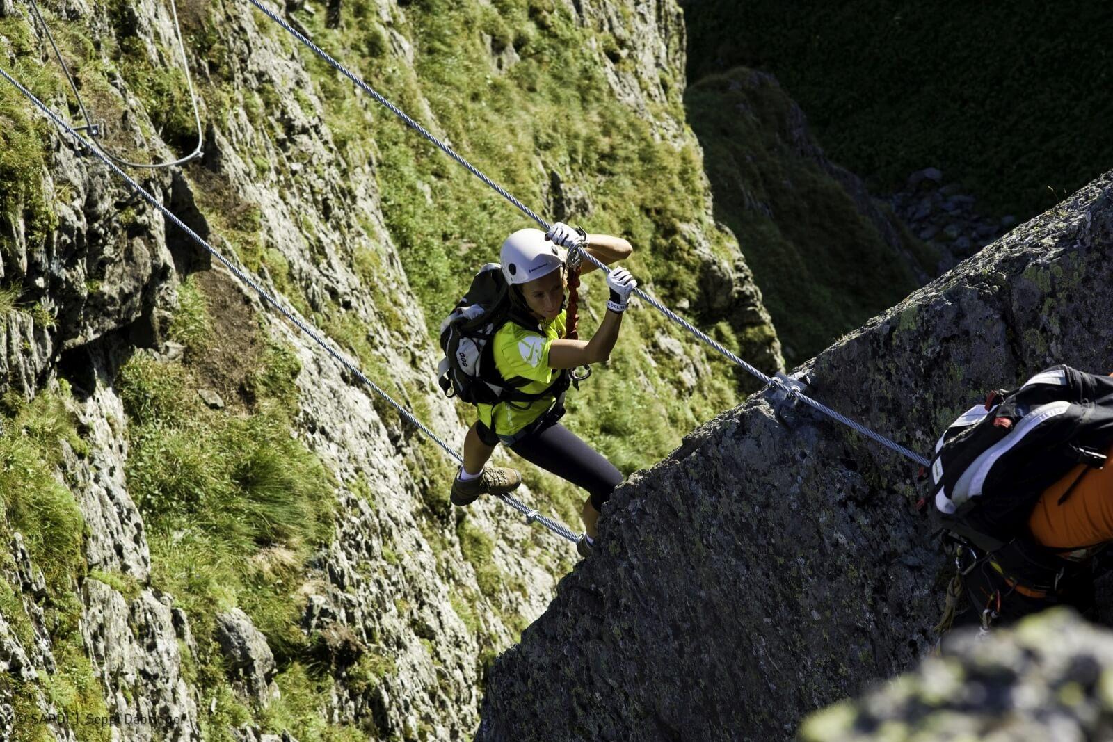 Heidi-Chalet-Falkert-Heidialm-Falkertsee-Klettern