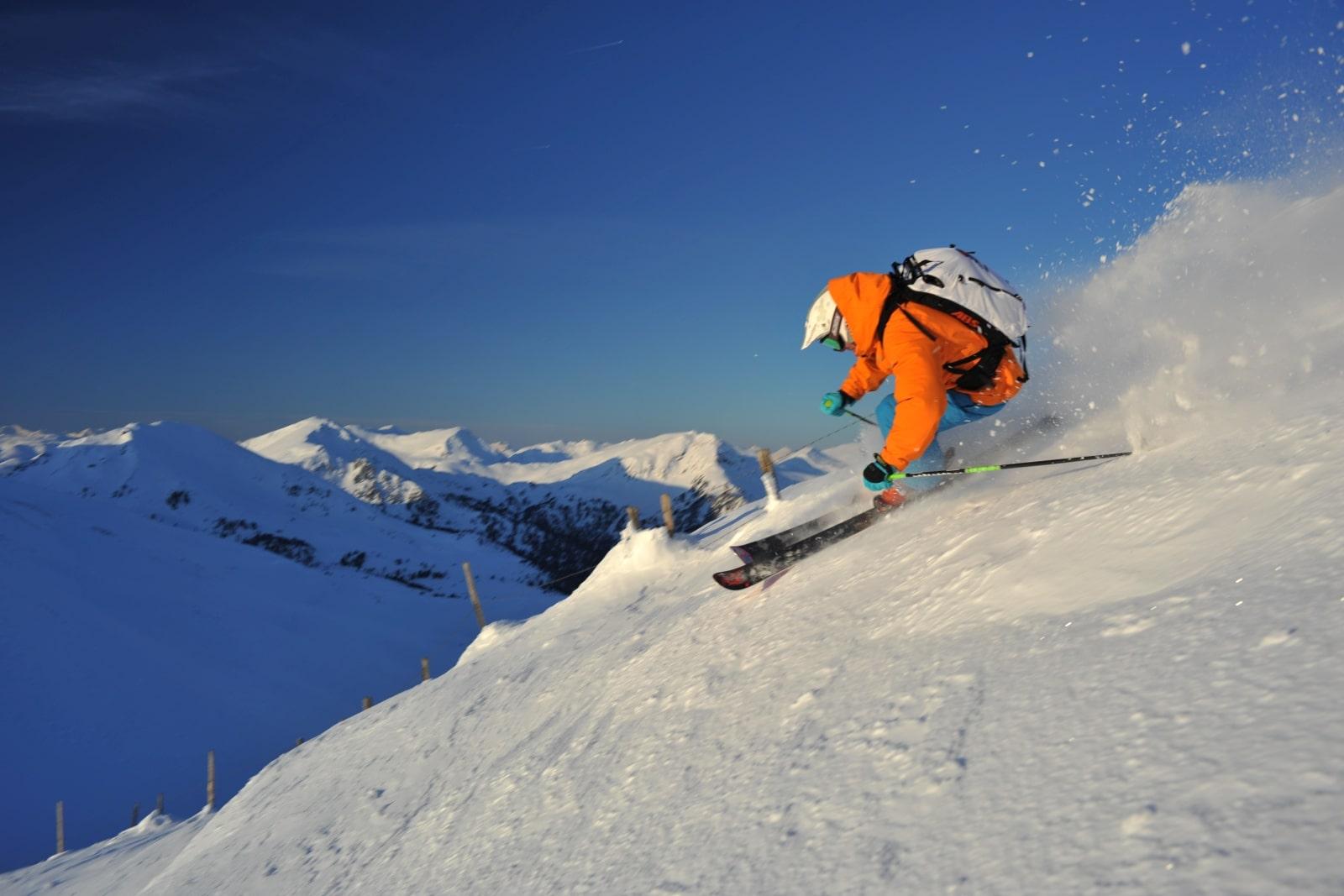 Heidi-Chalet-Falkert-Heidialm-Falkertsee-Ski-Nockberge-Abfahrt