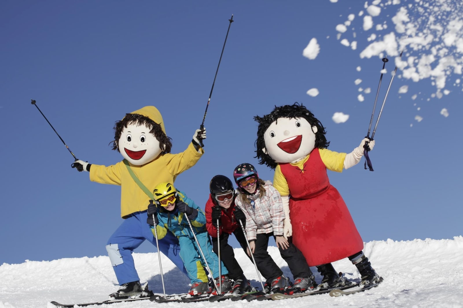 Heidi-Chalet-Falkert-Heidialm-Falkertsee-Ski-Nockberge-Piste-Kinder-Skischule