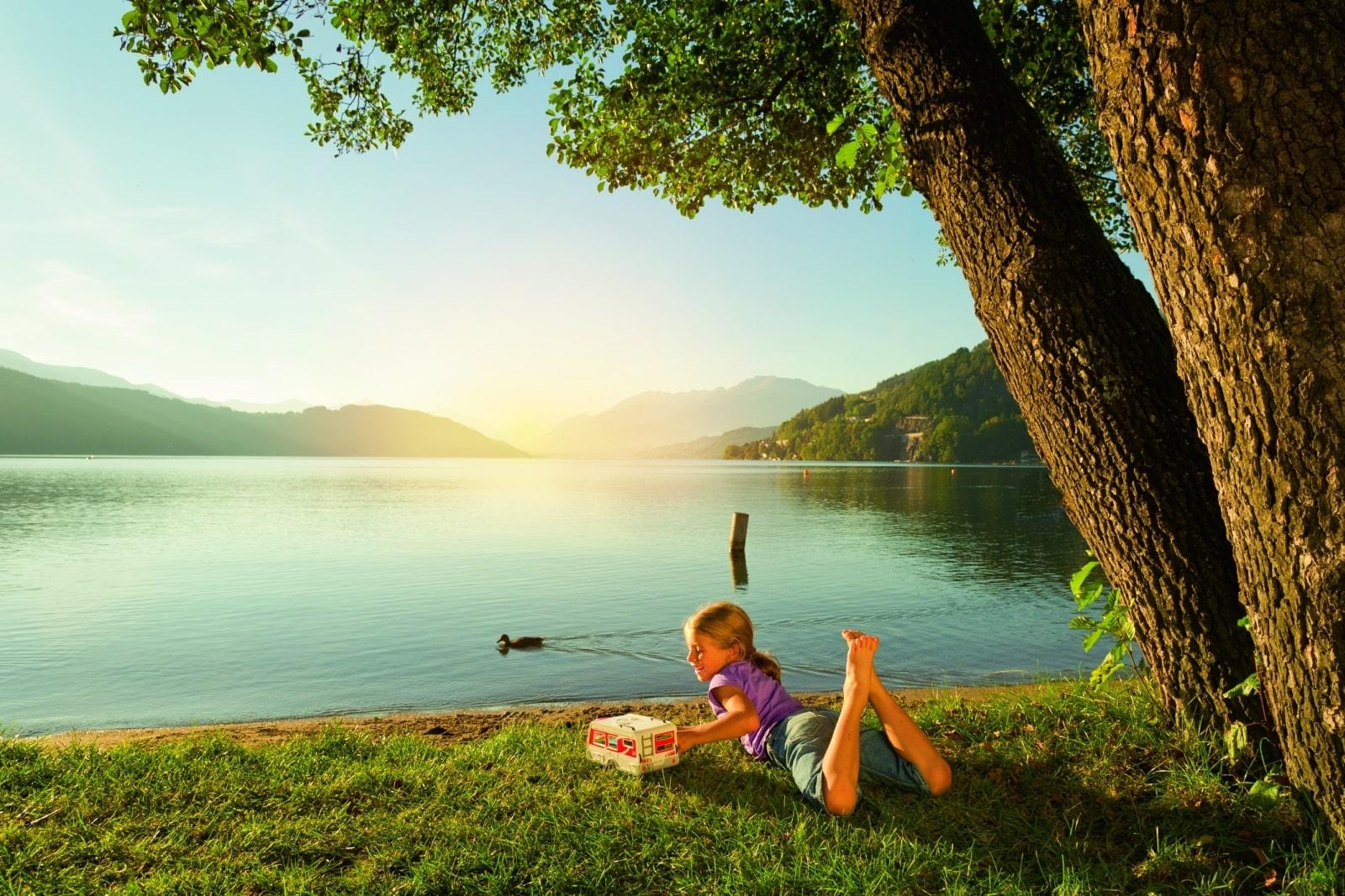 Heidi-Chalet-Falkert-Heidialm-Natur-See-Baden-Relaxen-Baum