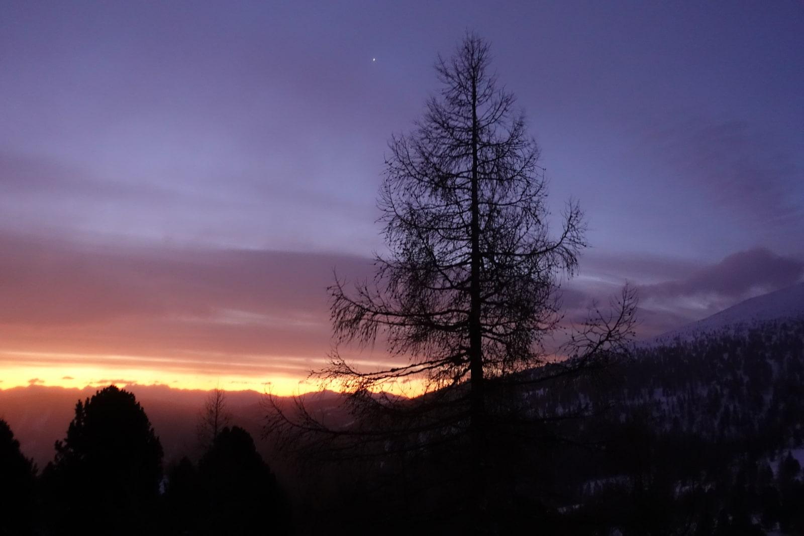Heidi-Chalet-Falkert-Heidialm-Almsommer-Winter-Abends-Stimmung