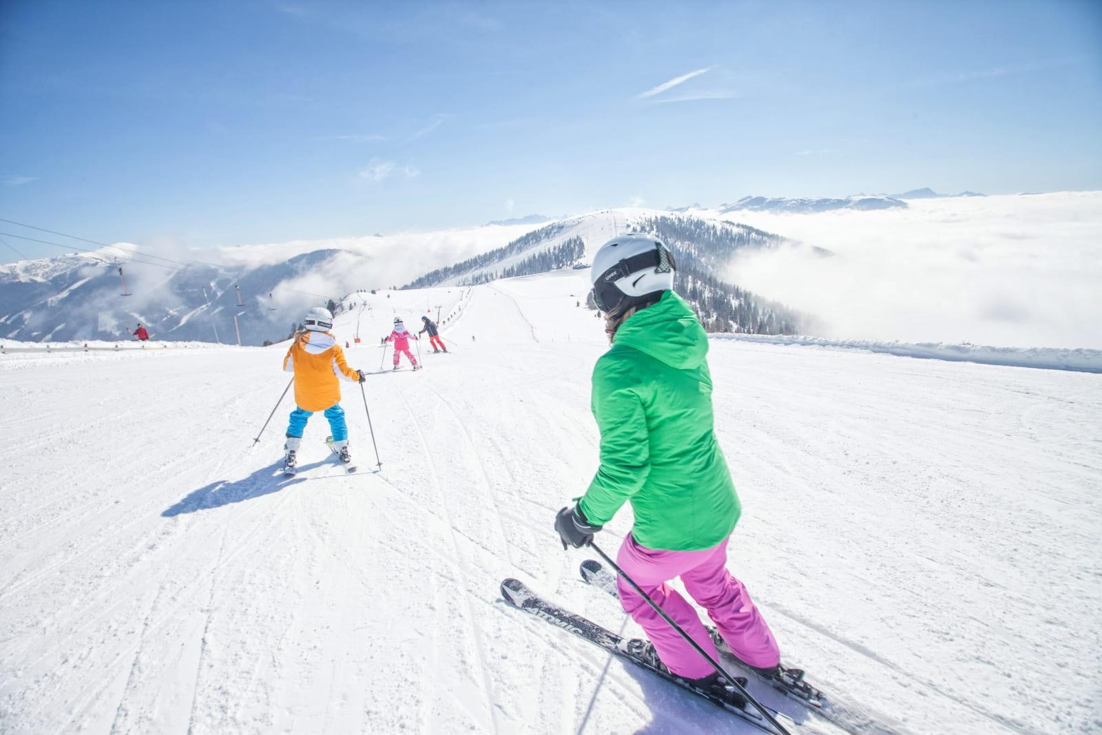 Heidi-Chalets-Falkertsee-Bad.Kleinkirchheim-BKK-Skifahren-Kinder