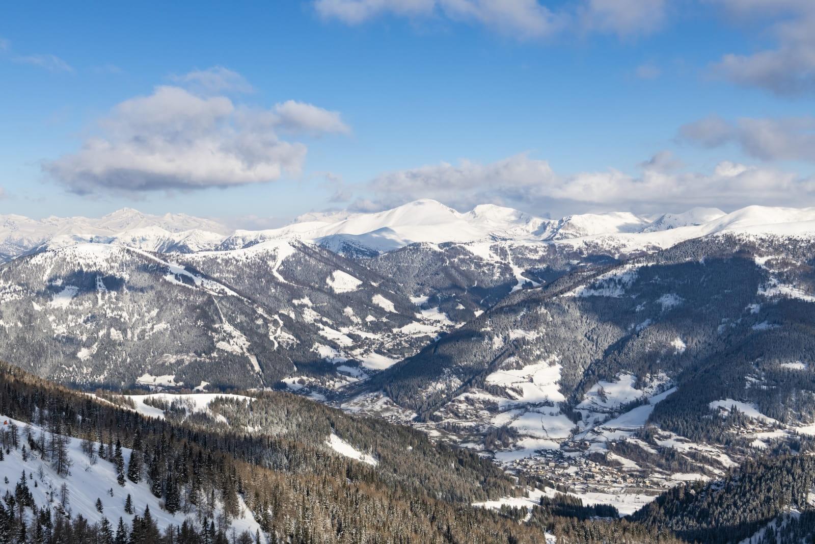 Heidi-Chalets-Falkertsee-Bad.Kleinkirchheim-BKK-Skifahren-Ort
